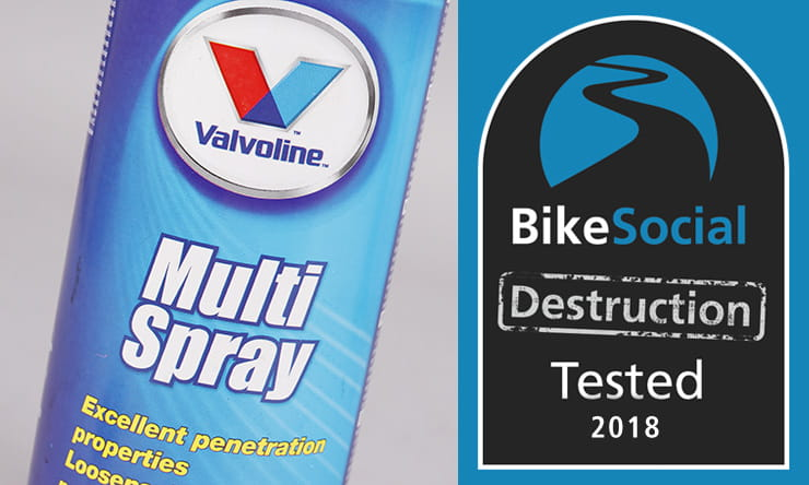 Tested: Valvoline Multi Spray corrosion protection review