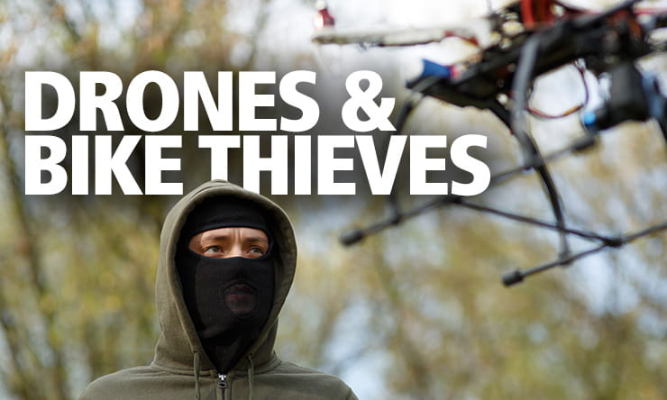 Drones and the motorcycle thief