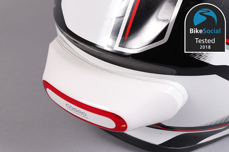 > Tested: Cosmo connected helmet brake light review
