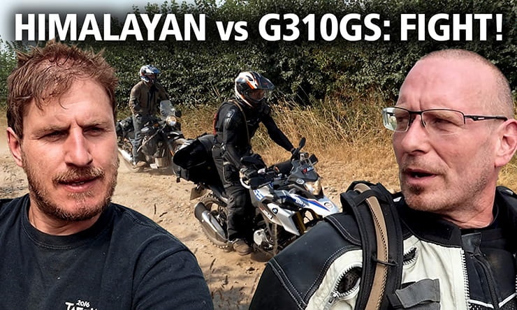 VIDEO: Best budget adventure bike? Himalayan vs G310GS