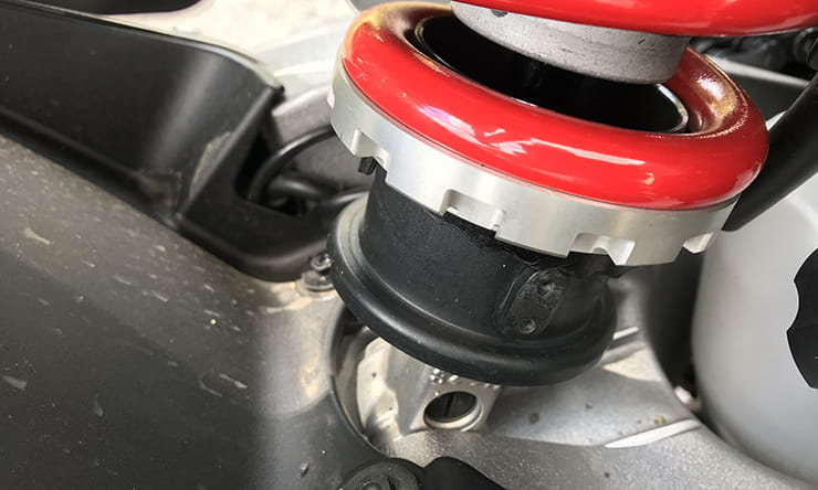 Blog: Honda CB1000R (2018) suspension settings