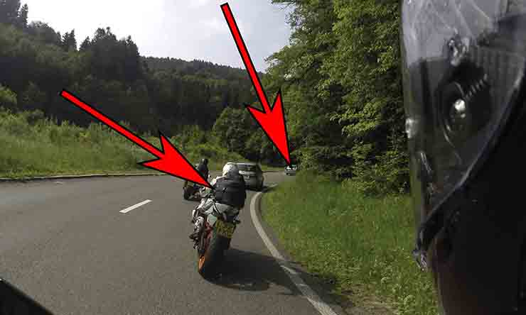 How to ride the perfect corner