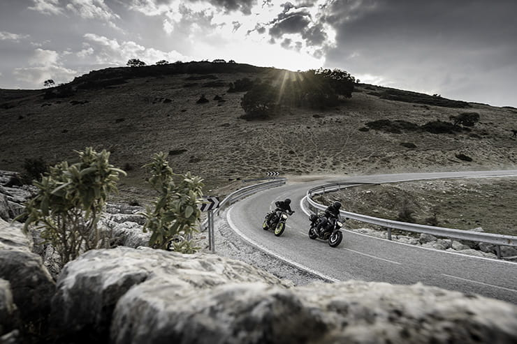 Motorcycle touring in Spain