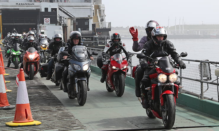 How to take your motorcycle touring on a ferry