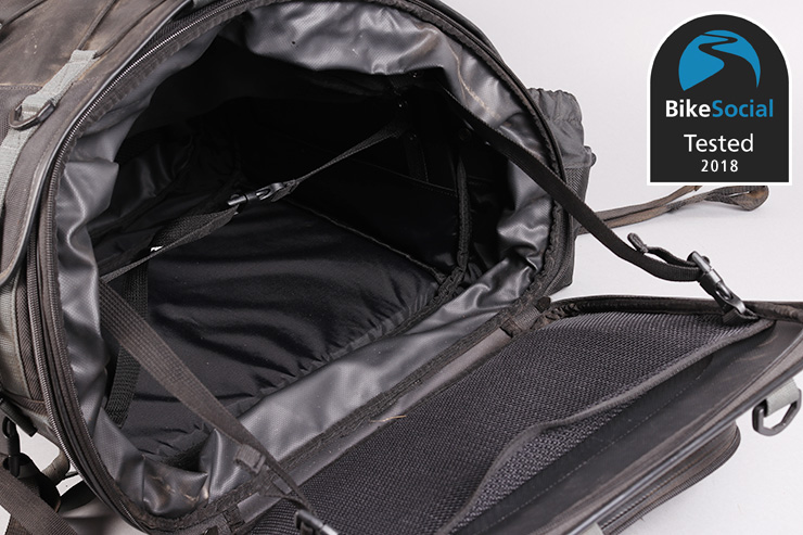 Tested: Moto Fizz Camping Seat bike bag review
