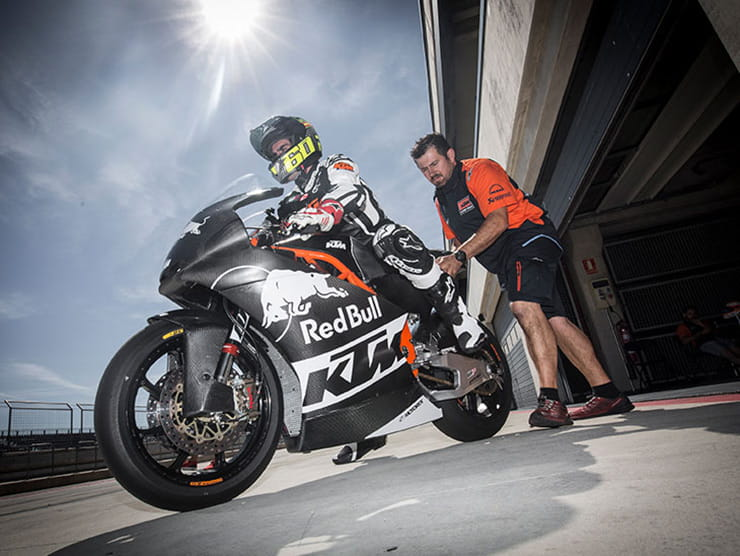 Triumph on their Moto2 engine testing and Daytona 765 chances