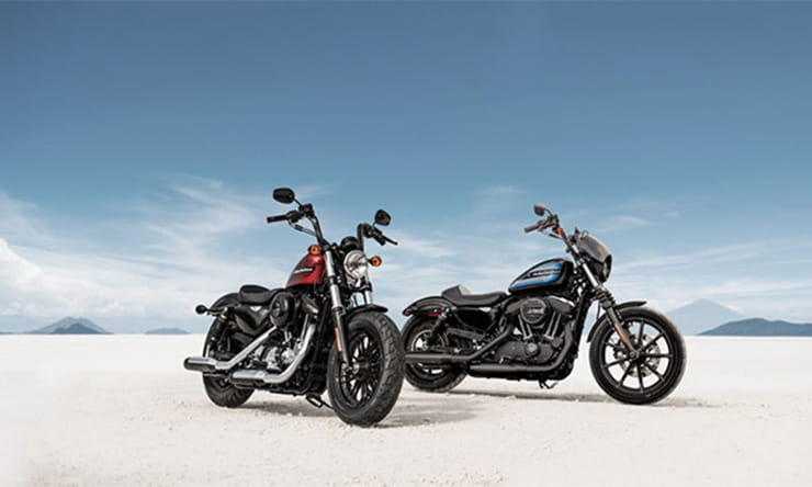 Harley-Davidson announce two new Sportsters