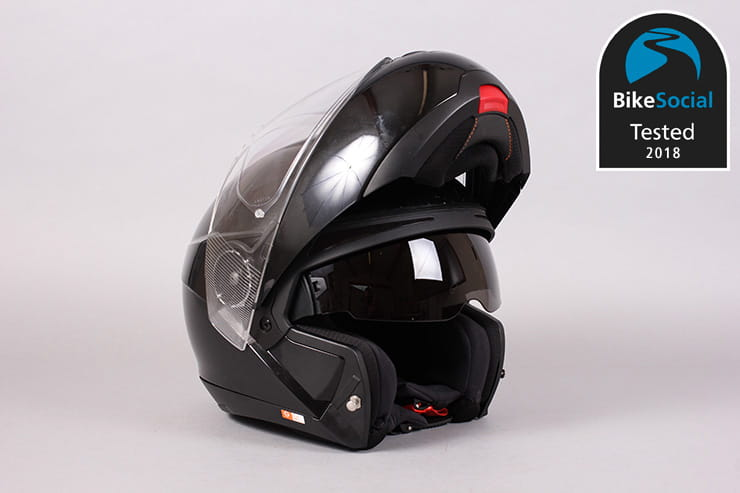 Schuberth C4 flip helmet review