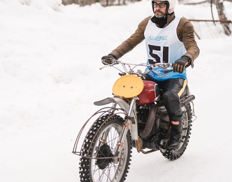 BikeSocial races at Snowquake on a