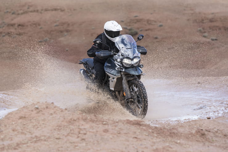 Triumph Tiger 800 XCA XRT first ride review