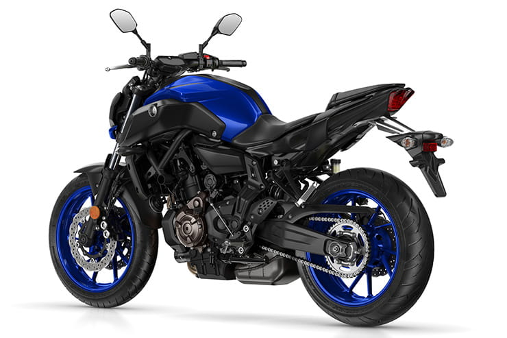 2018 new Yamaha MT-07 review