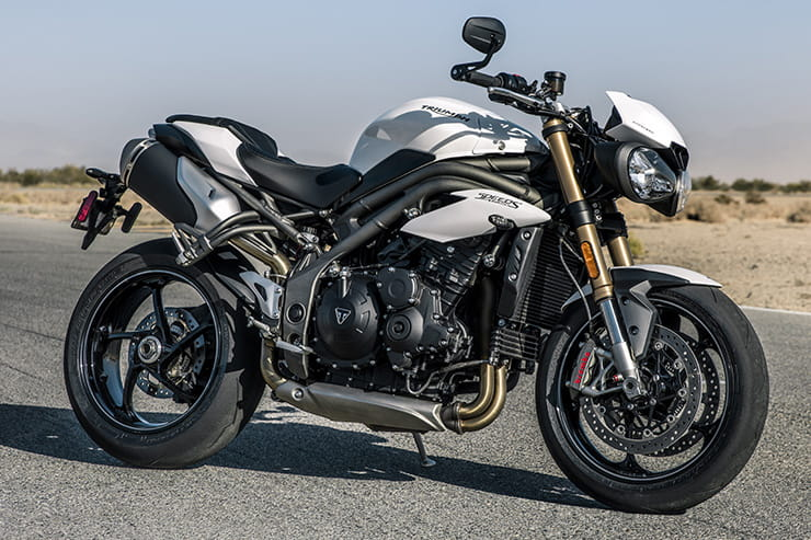 2018 Triumph Speed Triple S and RS