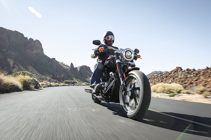Riding_2018 Harley Davidson Sport Glide review