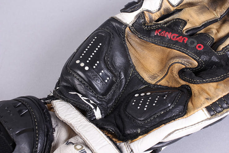 Knox Handroid motorcycle gloves BikeSocial review