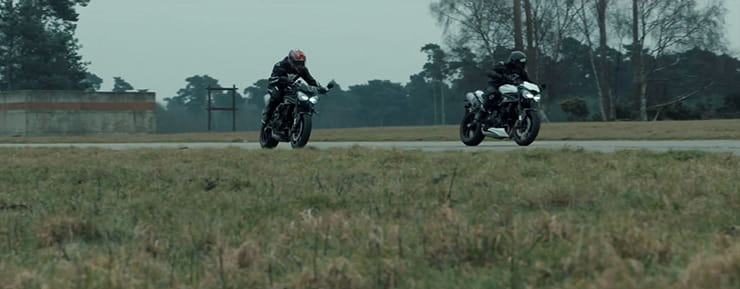 2018 Triumph Speed Triple RS Teaser