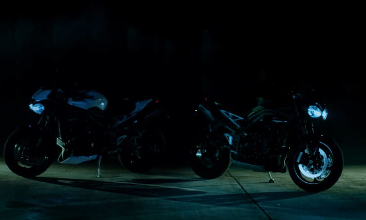 Triumph speed triple 2018 teaser