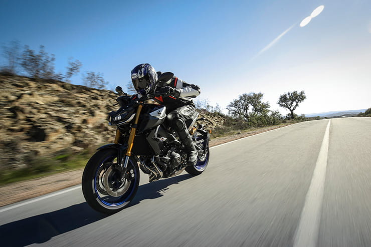 Yamaha MT09 SP BikeSocial review