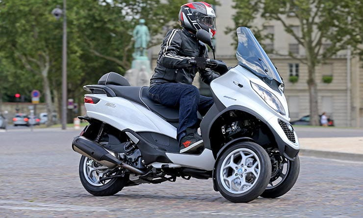 Piaggio MP3 350 and 500 launch report