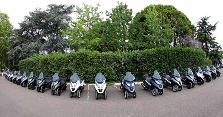 2018 Piaggio MP3 350 and 500 (2019) | Review