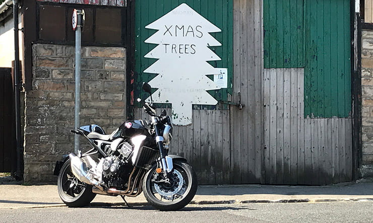 Honda CB1000R+ | Blog – the first few miles