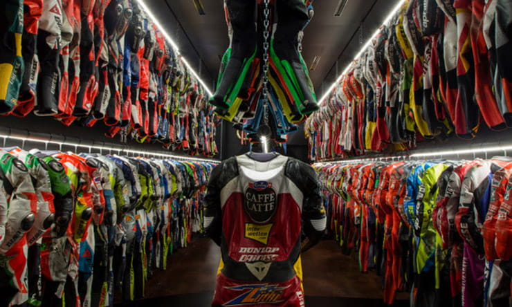 20 years of Rossi's leathers at new Dainese museum
