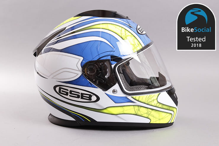 Tested: GSB G-350 motorcycle helmet review