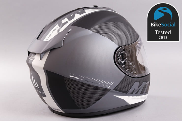 Tested: MT Rapide motorcycle helmet review