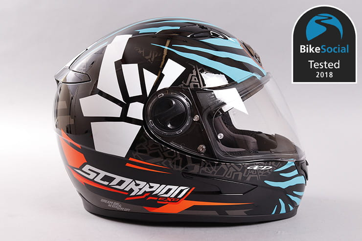 Tested: Scorpion EXO 490 motorcycle helmet review