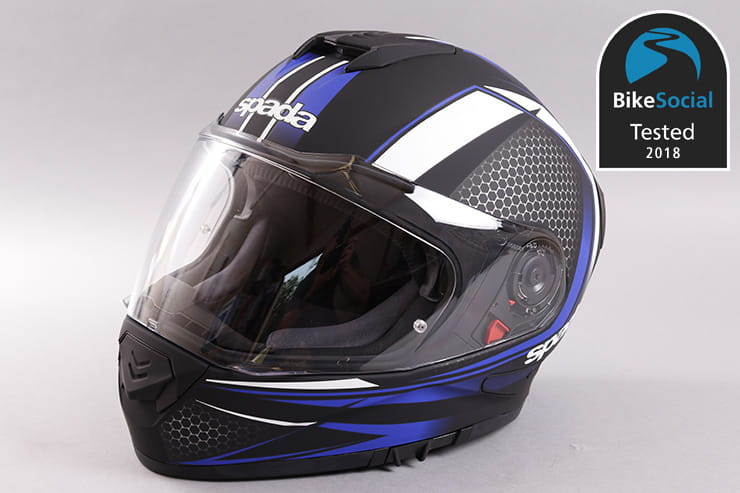 Tested: Spada RP One motorcycle helmet review
