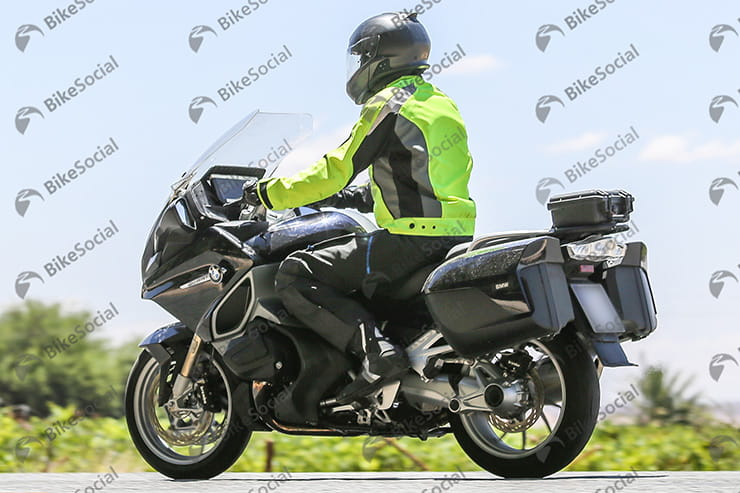 2019 BMW R1200RT spy shot