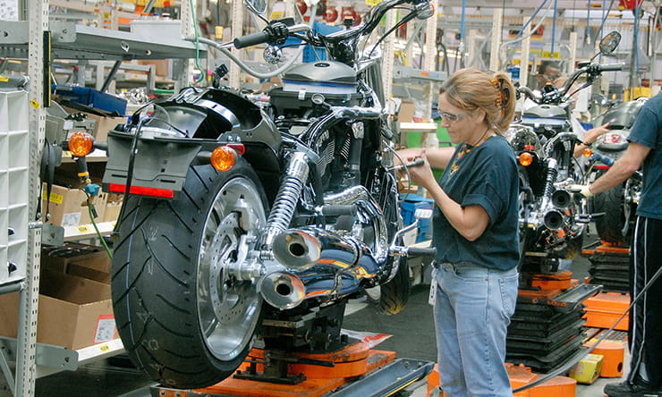 Harley-Davidson to be hit by steel traiffs