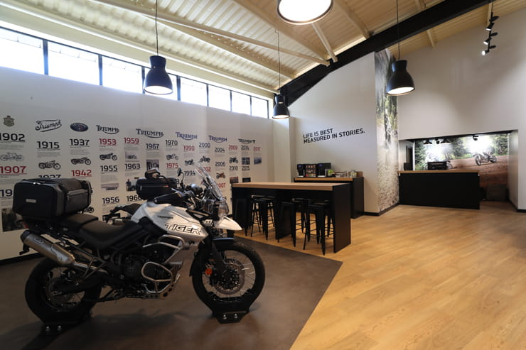 Triumph Adventure Centre BikeSocial Review