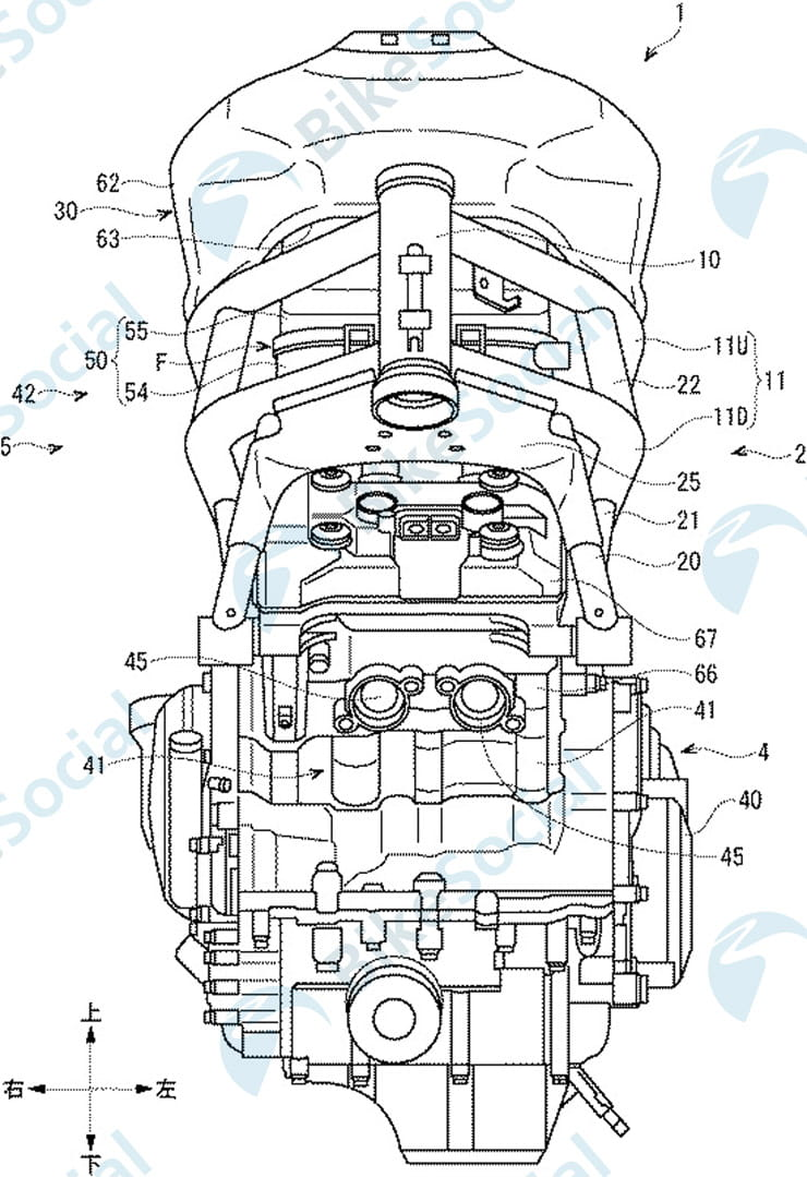 Suzuki patents GSX-R300