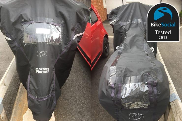 Oxford Medium Rainex Motorbike//Cycle Cover//Waterproof