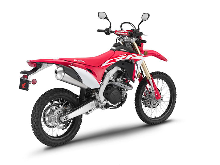 Street-legal Honda CRF450L revealed