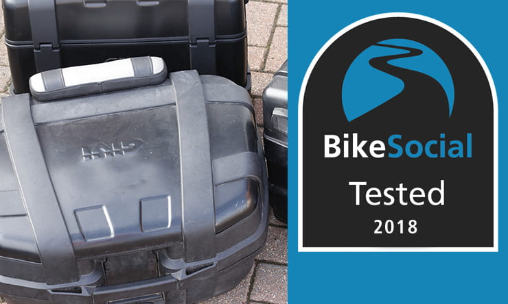 Givi Trekker motorcycle luggage review