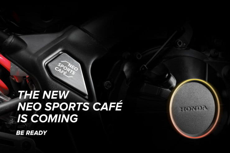 Honda Neo Sports Cafe teaser