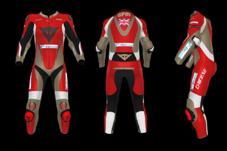 dainese custom suit