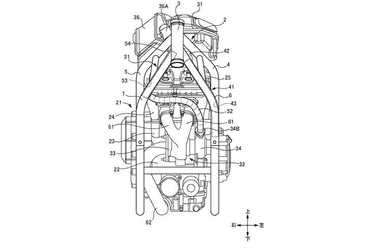 New Suzuki turbo bike patent