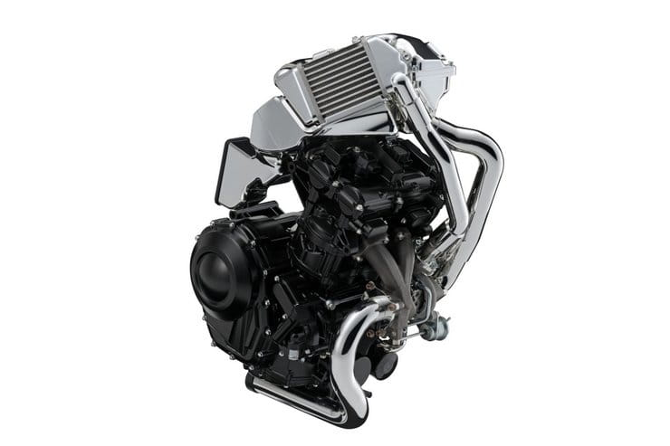 Suzuki XE7 turbo engine