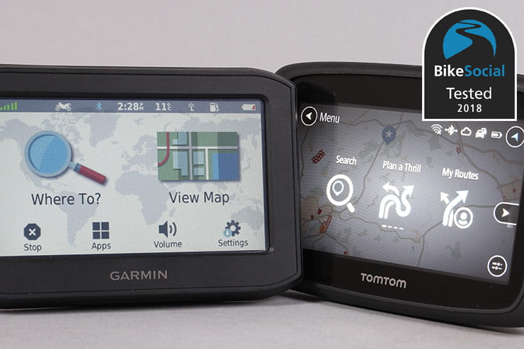 TomTom vs Garmin review: Which is the best motorcycle sat-nav?
