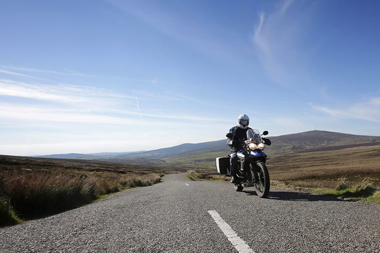 how to ride motorcycle bike ireland