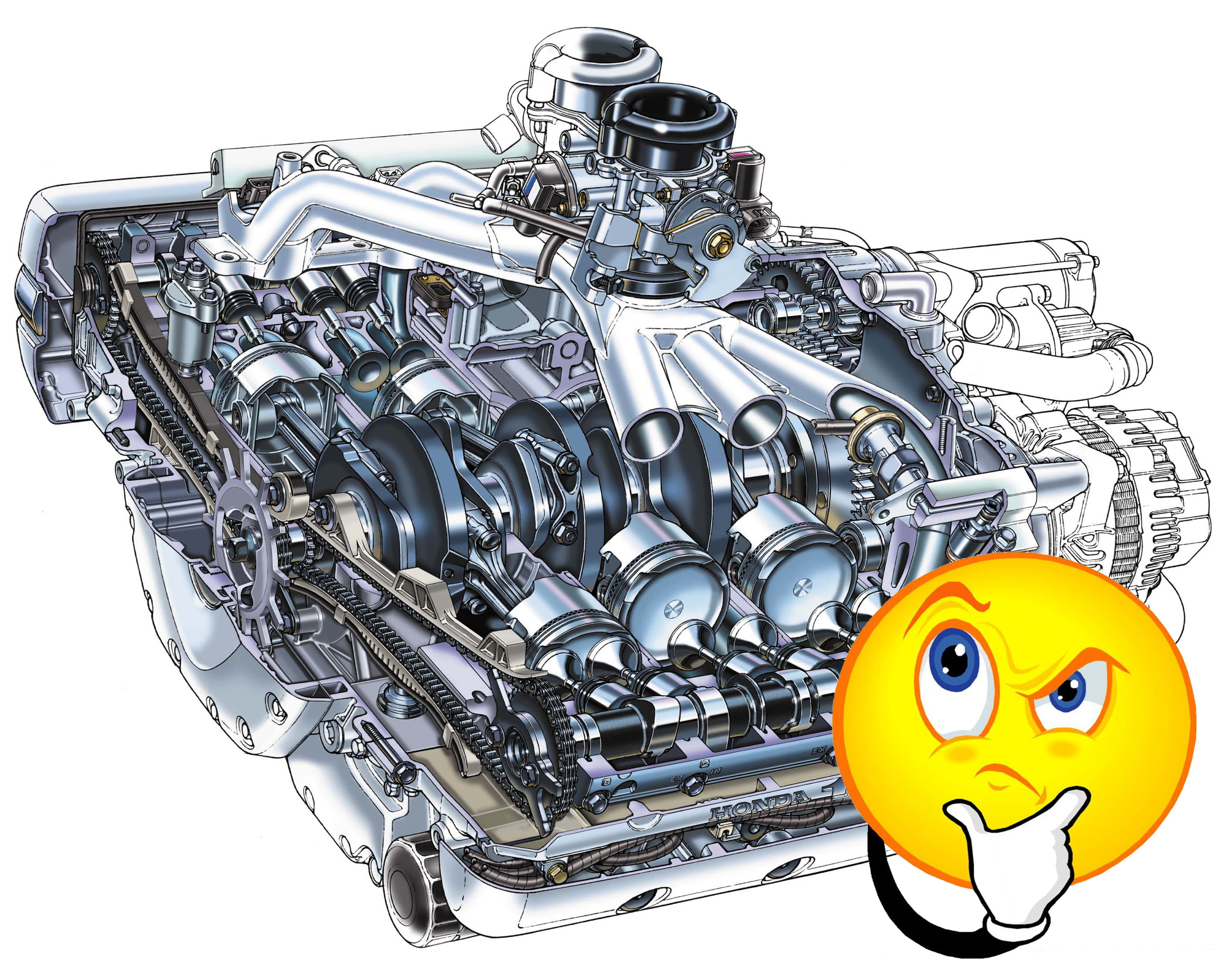 motorcycle basic engine diagram how does a motorcycle engine work  with video   diagram   how does a motorcycle engine work