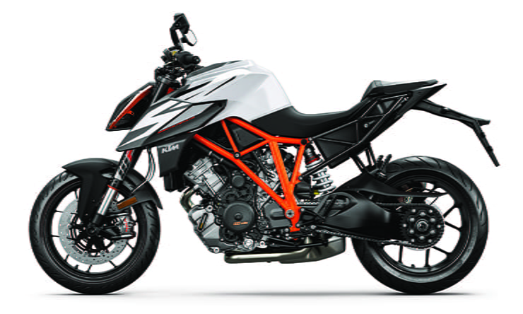 2019 KTM 1290 SUPER DUKE R White