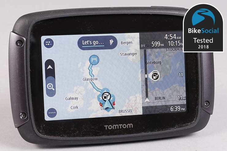 TomTom Rider 500 550 review GPS