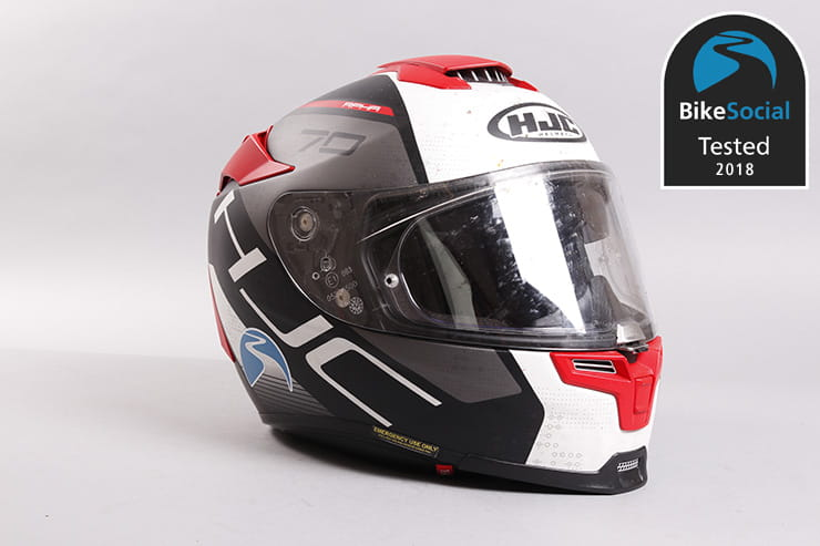 Tested: HJC RPHA 70 motorcycle helmet review