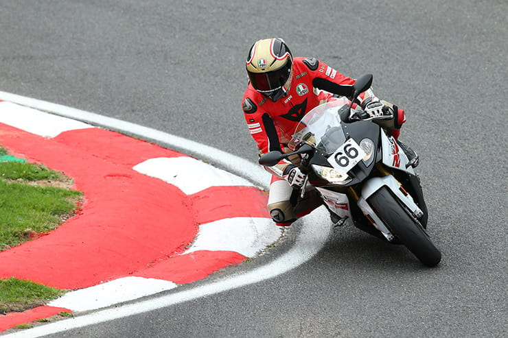 How much faster is a British Superbike rider than me?