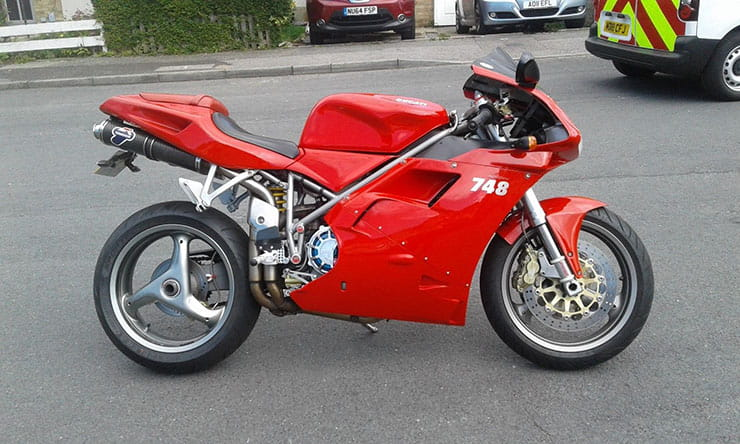 The five best Ducatis for under £4000 for sale this week