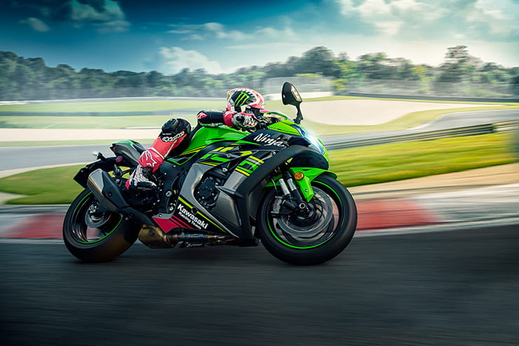 2019 Kawasaki ZX-10R on track
