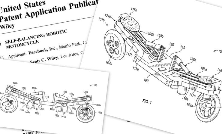 Facebook motorcycle patent